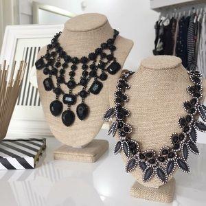 hwl boutique Jewelry - Black Statement Necklace