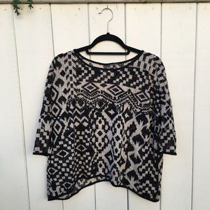 Nordstrom Tops - Geometric flowy top from Nordstrom