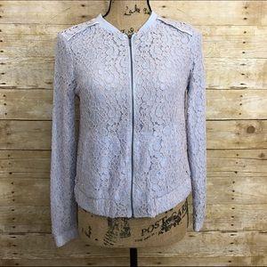 LC Lauren Conrad Jackets & Blazers - LC Lace Bomber Jacket