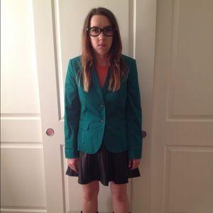 Banana Republic Jackets & Blazers - Green Blazer (modeled as Daria on Halloween 😂)