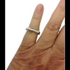 Tiffany & Co. Jewelry - Tiffany & Co. Bamboo unisex stacking ring band