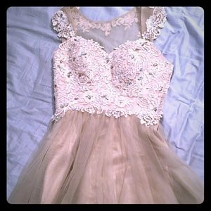 Other - Beautiful lace and tulle homecoming dress
