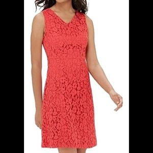 The limited red lace dress