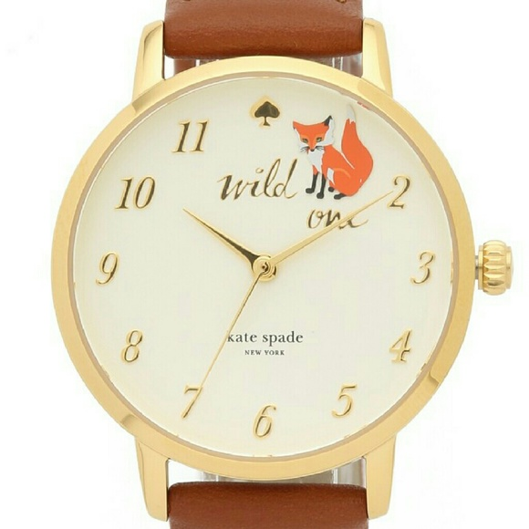 Kate Spade Accessories - KATE SPADE WILD ONE FOX WATCH🤓🤓LOOKING FOR