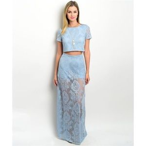 ASOS Dresses & Skirts - New stunning blue two-piece set
