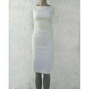 Necessary Objects Dresses & Skirts - Beige Sheath Dress NWT