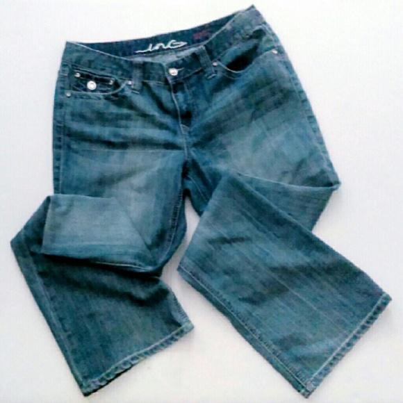 INC International Concepts Denim - I.N.C Jeans w/ Rhinestone Buttons