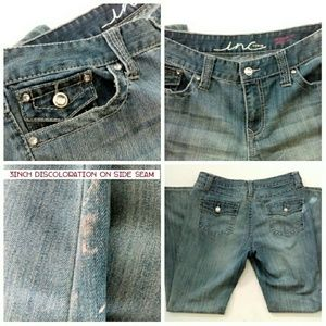INC International Concepts Jeans - I.N.C Jeans w/ Rhinestone Buttons