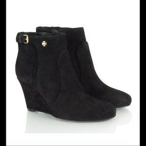 Tory Burch Shoes - Tory Burch Milan Wedge Bootie