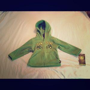 John Deere Other - John Deere 12M fleece jacket