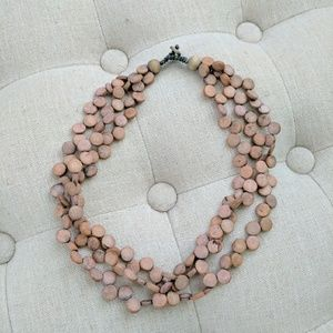 Evereve Jewelry - Evereve Gray - Tan Necklace