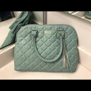 Quilted Betsey Johnson purse