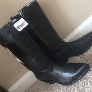 Laredo Shoes - Laredo women's black all leather cowboy boots