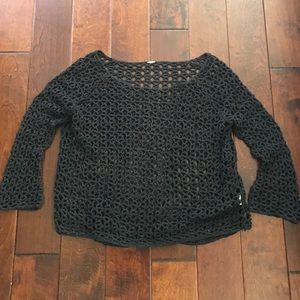 Free people crocheted sweater