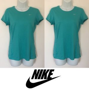 Nike Tops - | Nike | Miller Dri Fit Semi Fitted Workout Top
