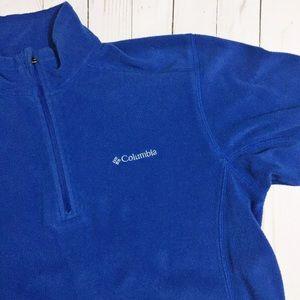 Columbia Other - 💚 Columbia Royal Blue Men's Lightweight Fleece