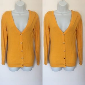 Charlotte Russe Sweaters - 🍍CLEARANCE🍍 Charlotte Russe Mustard Cardigan
