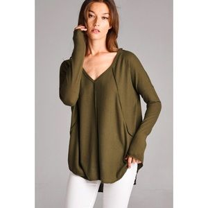 Super Soft Top-OLIVE