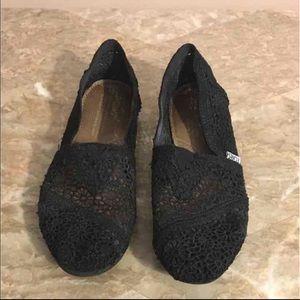 BLACK MOROCCAN CROCHET WOMEN'S CLASSICS