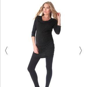 Seraphine Dresses & Skirts - Black sparkly maternity dress