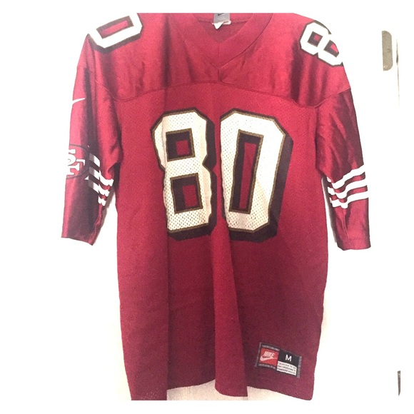 20c2b75f Nike Other | San Francisco 49ers Jerry Rice 80 Jersey | Poshmark