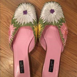 Kate Spade slip on sandals