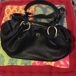 Rioni Handbags - Black Rioni Leather Bag.  Perfect Condition Final!