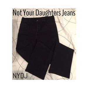 NYDJ Denim - NYDJ faded black denim size 12