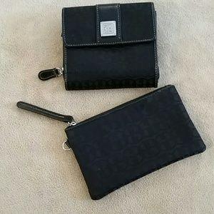 Giani Bernini wallet and coin purse