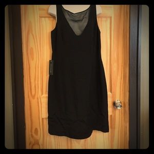 NEW Ann Taylor LBD black dress 12.