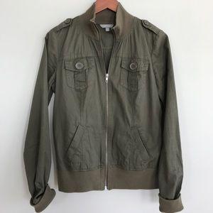 Rubbish Jackets & Blazers - Nordstrom Rubbish green military/bomber jacket