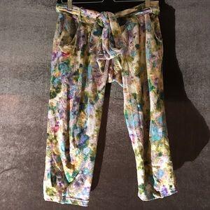 SUNO Pants - Suno casual cotton printed pants. Size xs
