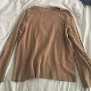 Zara Sweaters - Zara tan sweater