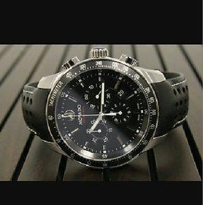 Movado Other - NWT $1,700 Movado chronograph black dial watch