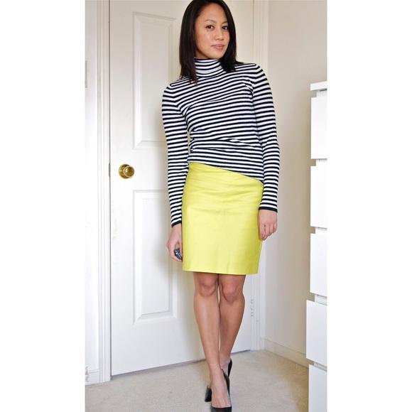 cf282d27f J. Crew Dresses & Skirts - J. Crew No. 2 Chartreuse Pencil Skirt