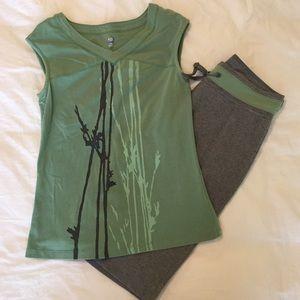 St. John's Bay Pants - [St. John's Bay] activewear set