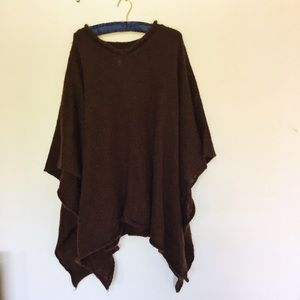 Flax Sweaters - Knitted Poncho
