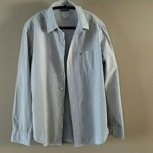 Men's button front shirt