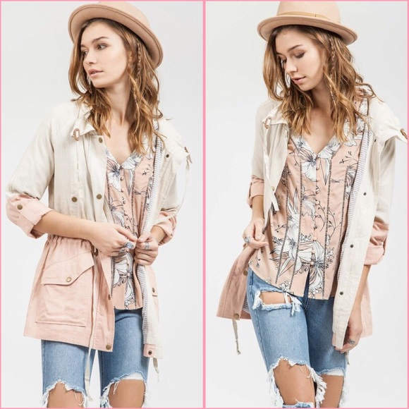 Urban Outfitters Jackets & Coats - SALE💕Dusty Pink Spring Jacket 💕