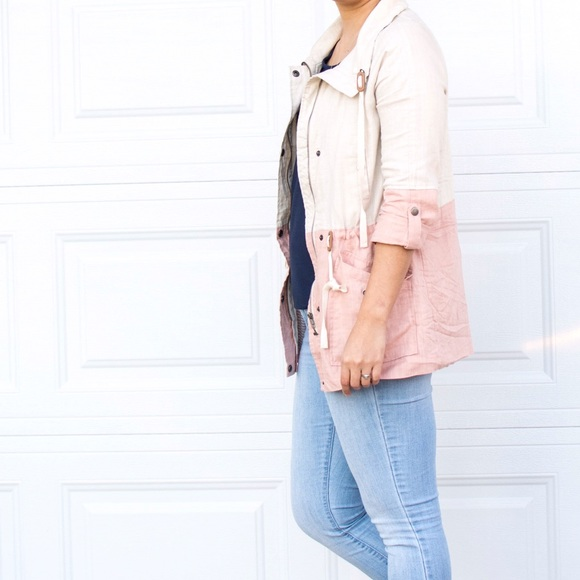 Urban Outfitters Jackets & Coats - 💕Dusty Pink Spring Jacket 💕