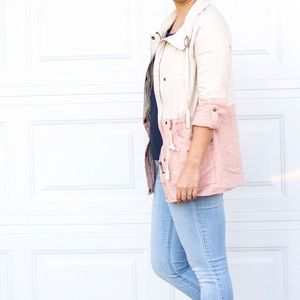SALE💕Dusty Pink Spring Jacket 💕