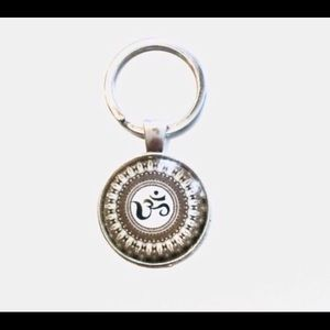 Other - Magnified OM Glass Keyring, Zipper Pull
