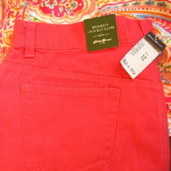 Eddie Bauer Jeans - NWT Eddie Bauer 5-Pocket Capri jeans