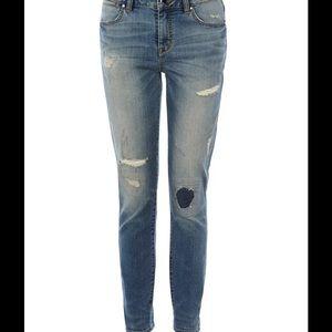 Karen Millen Denim - Karen millen women ripped and frayed jeans sz US 8
