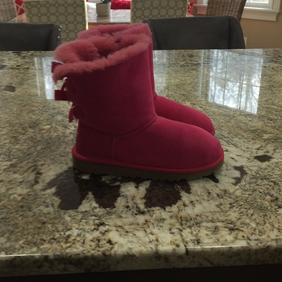 23721473bd5 Hot Pink Bailey Bow Uggs - cheap watches mgc-gas.com