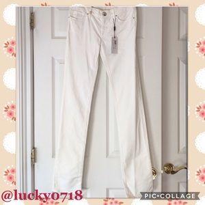Missoni Denim - M Missoni NWT Linda White Straight Leg Jean Sz 28