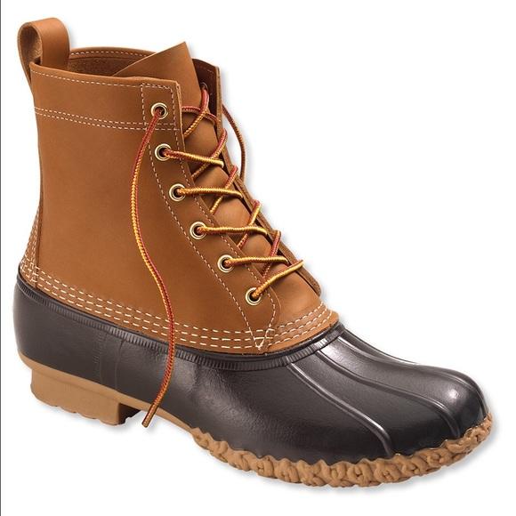 "L.L. Bean Shoes - LL Bean Boots / Duck Boots 8"""