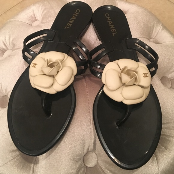0b17bcb09e59 CHANEL Shoes - 🌸Authentic Chanel Camille Jelly sandal🌸NO TRADES