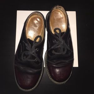 John Fluevog Other - John Fluevog Angel Swirl Oxblood Oxfords