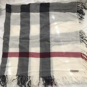 Burberry Accessories - Burberry Cotton Check Scarf